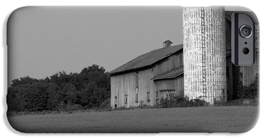 Barn IPhone 6 Case featuring the photograph Still Here by Rhonda Barrett