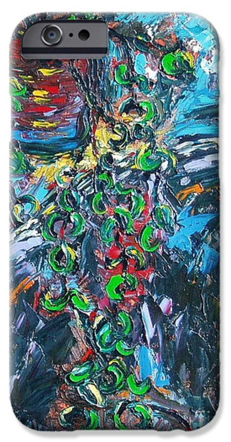 Abstract Paintings IPhone 6 Case featuring the painting Still Life by Seon-Jeong Kim