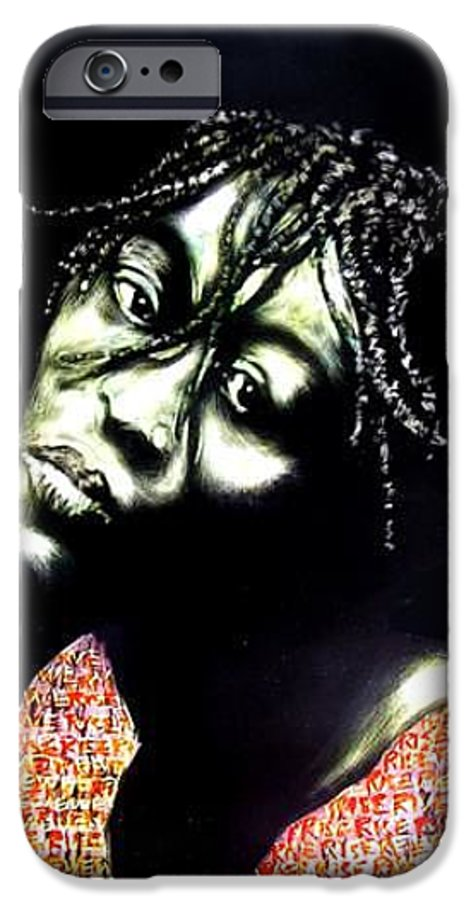 IPhone 6 Case featuring the mixed media Still We Rise by Chester Elmore