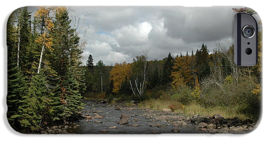 Nature IPhone 6 Case featuring the photograph Stream At Tettegouche State Park by Kathy Schumann