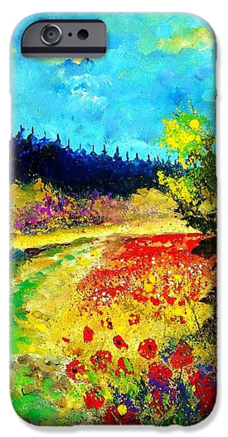 Flowers IPhone 6 Case featuring the painting Summer by Pol Ledent