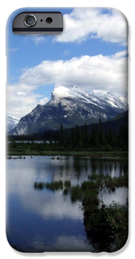 Landscape IPhone 6 Case featuring the photograph Summertime In Vermillion Lakes by Tiffany Vest