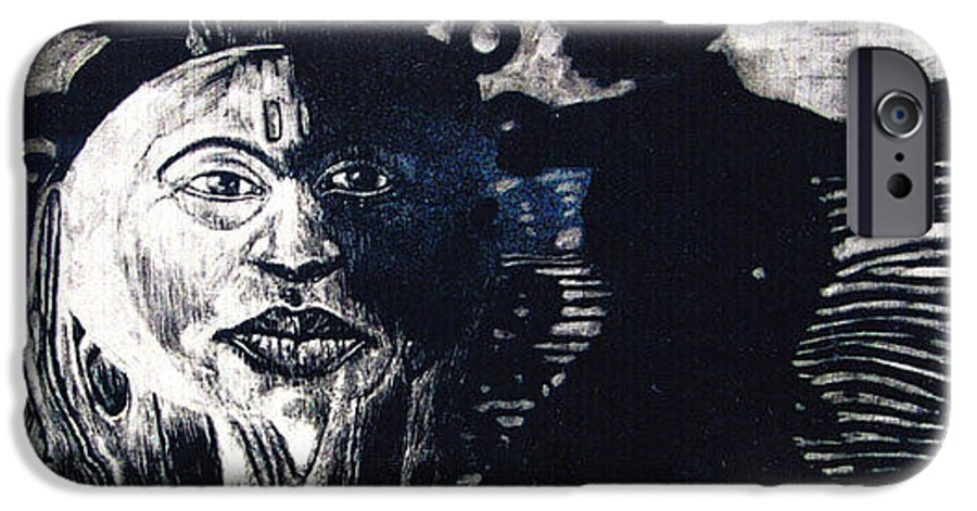 IPhone 6 Case featuring the mixed media Sun Dance by Chester Elmore