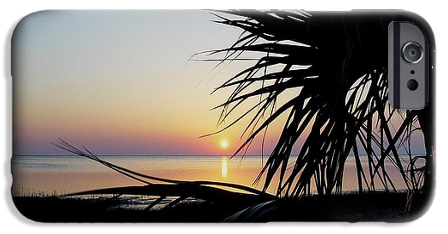 Sunset IPhone 6 Case featuring the photograph Sun Touched by Debbie May