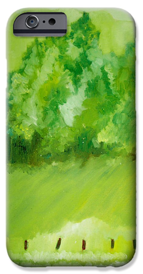 Spring IPhone 6 Case featuring the painting Sunday At Two Thirty by Seth Weaver