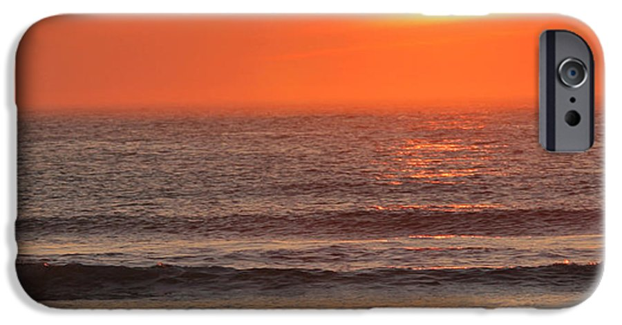 Ocean IPhone 6 Case featuring the photograph Sunrise On The Oceanside by Max Allen