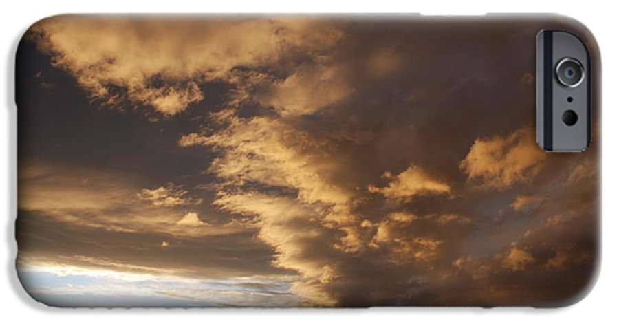 Sunset IPhone 6 Case featuring the photograph Sunset At The New Mexico State Capital by Rob Hans