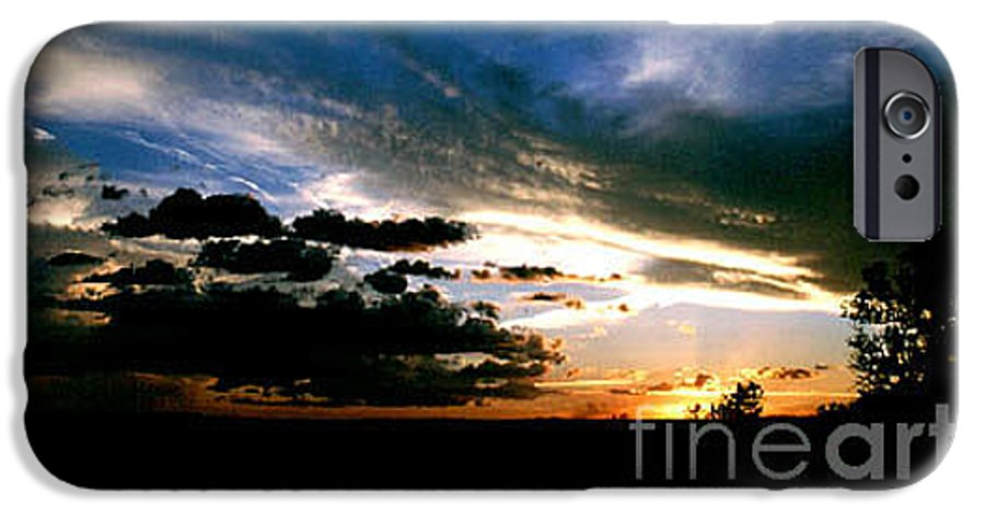Sunset IPhone 6 Case featuring the photograph Sunset At The North Rim by Kathy McClure