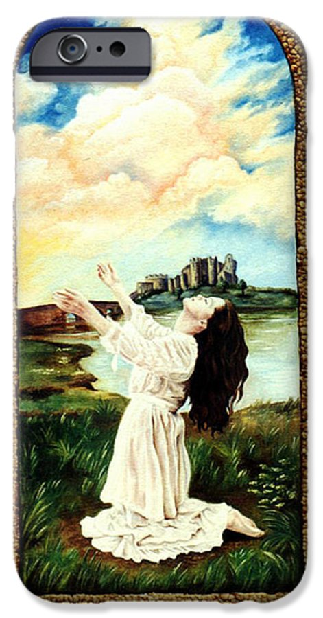 Christian IPhone 6 Case featuring the painting Surrender by Teresa Carter