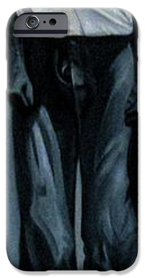 Slavery IPhone 6 Case featuring the painting Survivor Spirit Albert by Joyce Owens