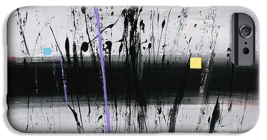 Swamp IPhone 6 Case featuring the painting Swamp 2008 by Mario Zampedroni