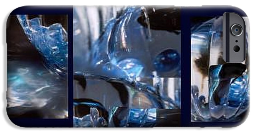 Abstract Of Betta In A Bowl IPhone 6 Case featuring the photograph Swirl by Steve Karol