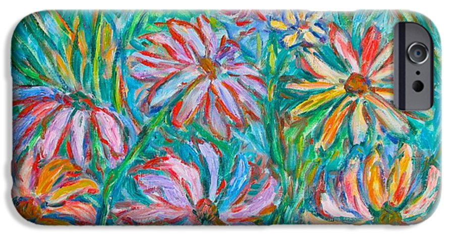 Impressionist IPhone 6 Case featuring the painting Swirling Color by Kendall Kessler