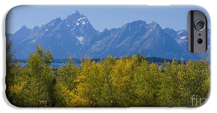 Teton IPhone 6 Case featuring the photograph Teton Range by Idaho Scenic Images Linda Lantzy