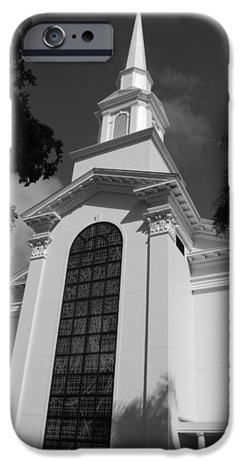 Architecture IPhone 6 Case featuring the photograph Thats Church by Rob Hans