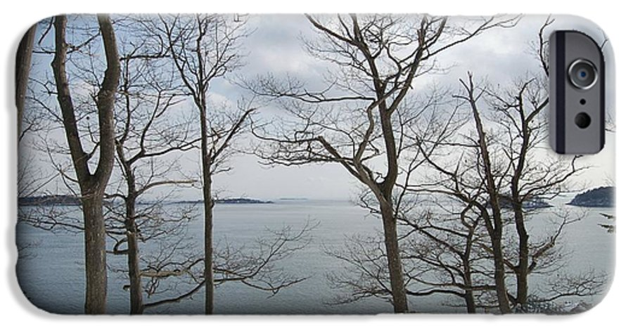 Water IPhone 6 Case featuring the photograph The Bay In Winter by Faith Harron Boudreau