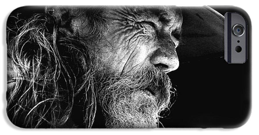 Australian Bushman Hat IPhone 6 Case featuring the photograph The Bushman by Sheila Smart Fine Art Photography