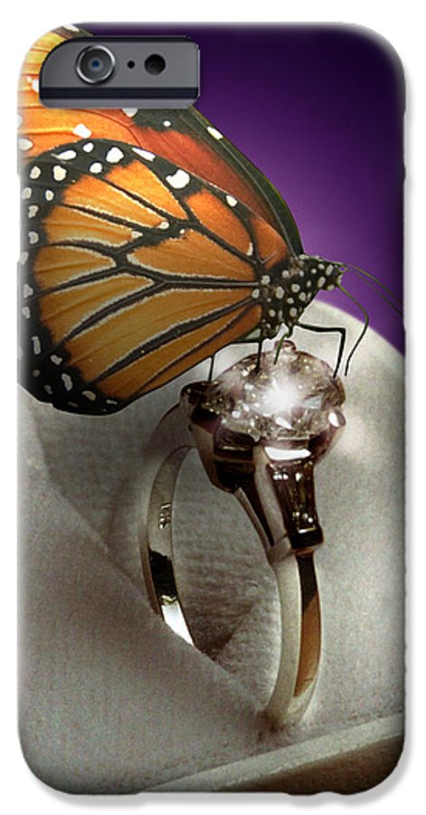 Fantasy IPhone 6 Case featuring the photograph The Butterfly And The Engagement Ring by Yuri Lev