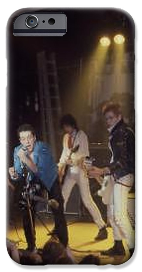 The Clash-london 1978 Photo By Dawn Wirth-copyrighted IPhone 6 Case featuring the photograph The Clash-london - July 1978 by Dawn Wirth