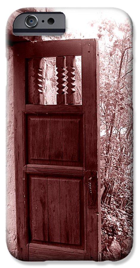 Door IPhone 6 Case featuring the photograph The Door by Wayne Potrafka