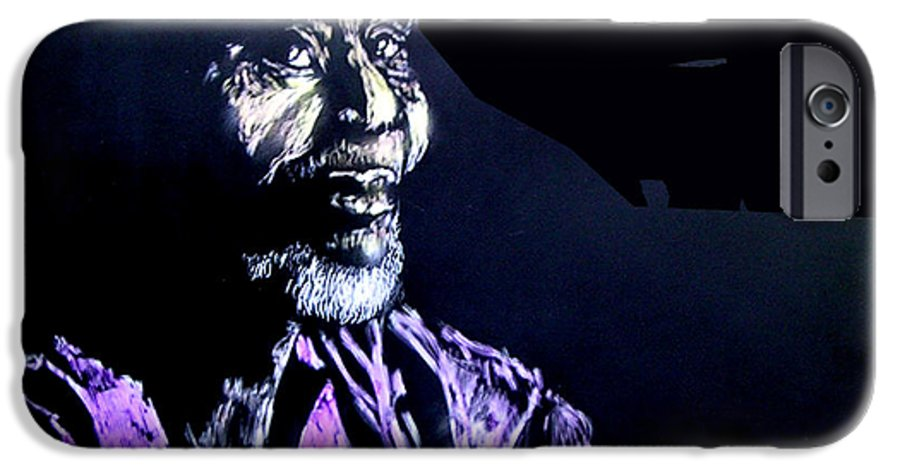 IPhone 6 Case featuring the mixed media The Elder by Chester Elmore