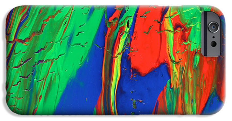 Fusionart IPhone 6 Case featuring the painting The Escape by Ralph White