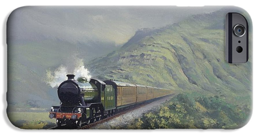 Steam IPhone 6 Case featuring the painting the Great Marquess by Richard Picton