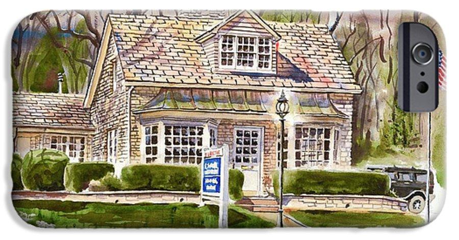 The Greystone Inn In Brigadoon IPhone 6 Case featuring the painting The Greystone Inn In Brigadoon by Kip DeVore