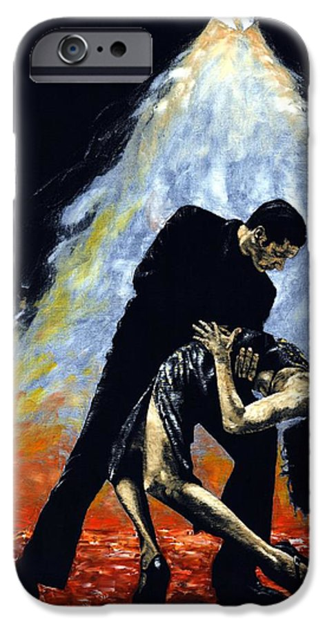 Tango IPhone 6 Case featuring the painting The Intoxication Of Tango by Richard Young