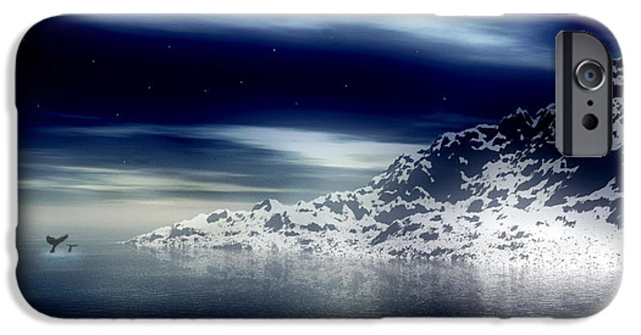 Arctic IPhone 6 Case featuring the digital art The Journey Together by Kenneth Krolikowski