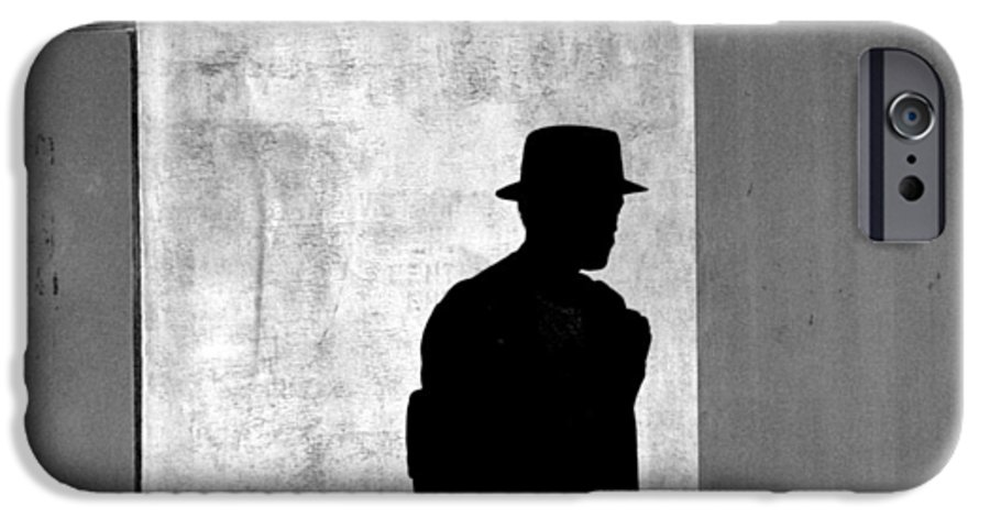 Abstract IPhone 6 Case featuring the photograph The Last Time I Saw Joe by Steven Huszar