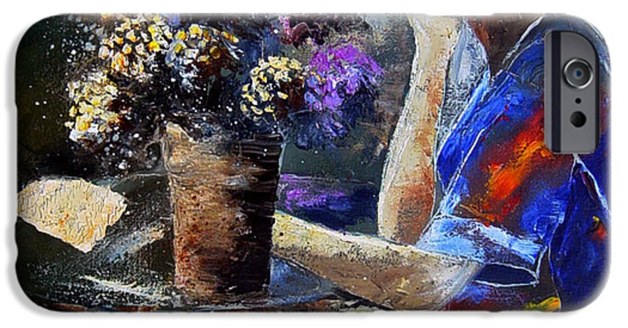 Girl Nude IPhone 6 Case featuring the painting The Letter by Pol Ledent