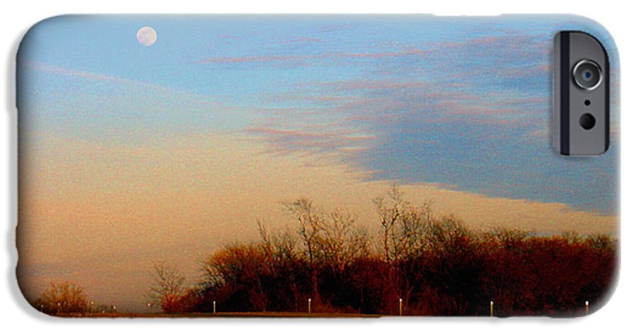 Landscape IPhone 6 Case featuring the photograph The On Ramp by Steve Karol