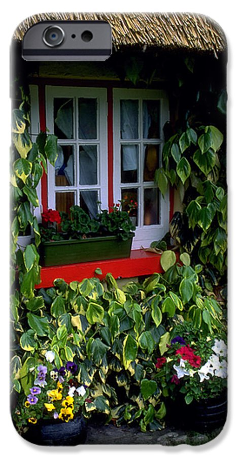 Ivy IPhone 6 Case featuring the photograph The Perfect Cottage by Carl Purcell