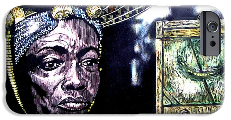 IPhone 6 Case featuring the mixed media The Promise Keeper by Chester Elmore