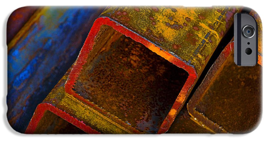 Abstract IPhone 6 Case featuring the photograph The River by Skip Hunt