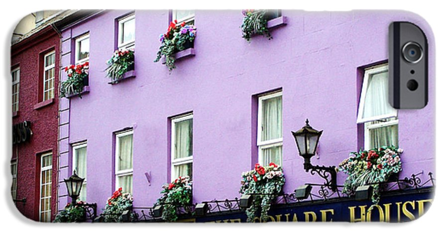 Irish IPhone 6 Case featuring the photograph The Square House Athlone Ireland by Teresa Mucha