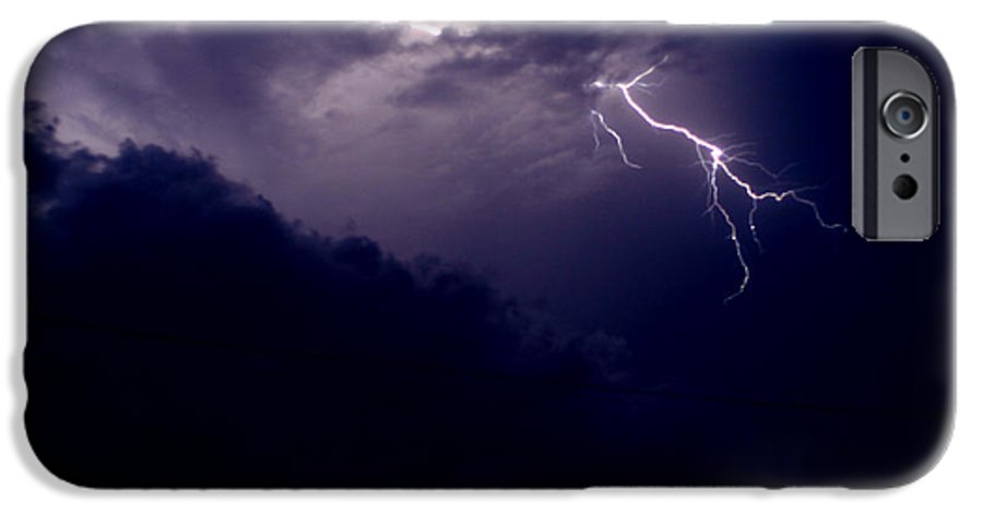 Sky IPhone 6 Case featuring the photograph The Storm 1.3 by Joseph A Langley