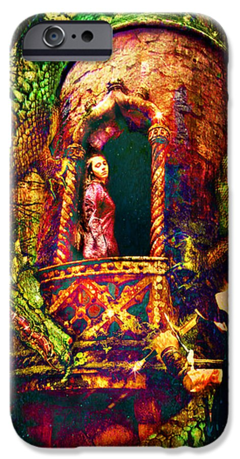 Dragon IPhone 6 Case featuring the photograph The Tower by Perennial Dreams Studios