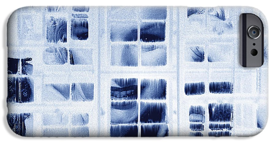 Marilyn Monroe IPhone 6 Case featuring the digital art The Voyeur by Seth Weaver
