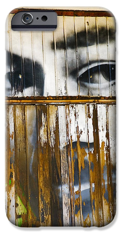 Escondido IPhone 6 Case featuring the photograph The Walls Have Eyes by Skip Hunt