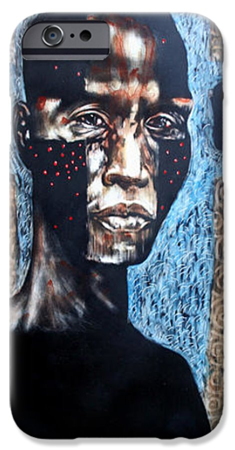 Religion IPhone 6 Case featuring the mixed media The Zelot by Chester Elmore