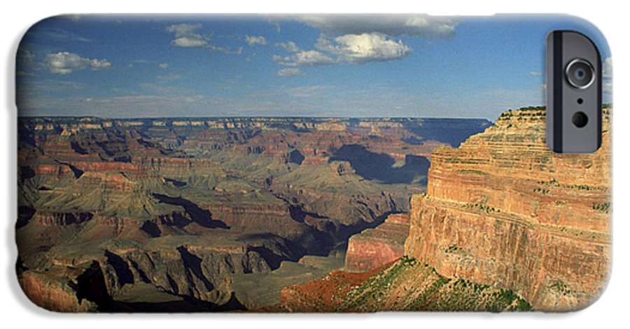 Grand Canyon IPhone 6 Case featuring the photograph This Is My Father's World by Kathy McClure