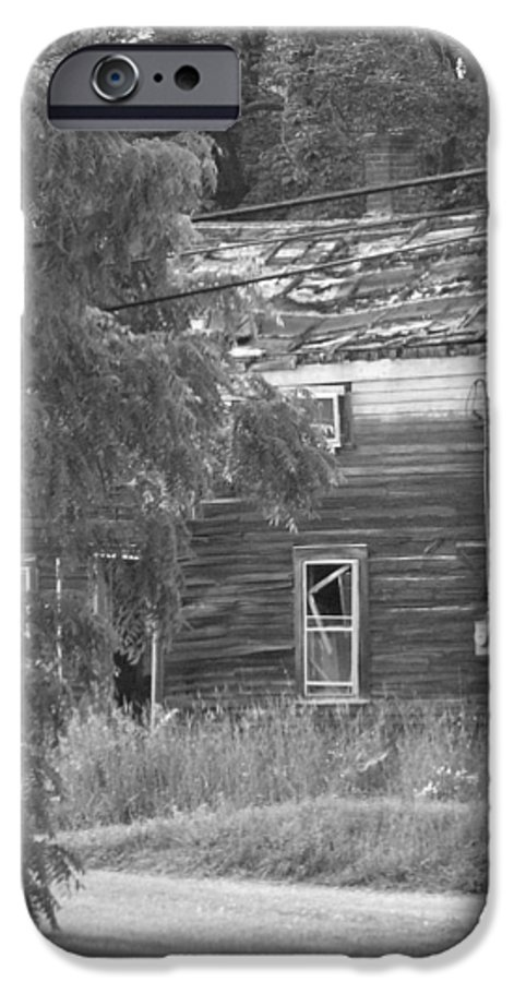 House IPhone 6 Case featuring the photograph This Old House by Rhonda Barrett