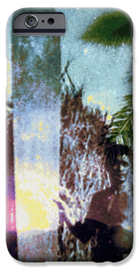 Tropical Interior Design IPhone 6 Case featuring the photograph Time Surfer by Kenneth Grzesik