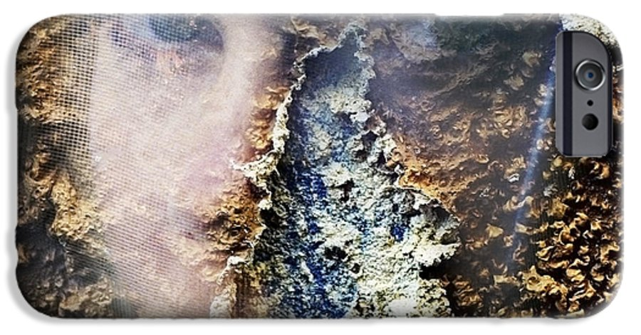 Female IPhone 6 Case featuring the photograph Torn by Skip Hunt