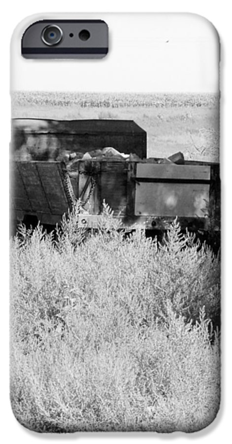 Farm IPhone 6 Case featuring the photograph Trash Truck by Margaret Fortunato