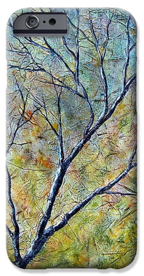 IPhone 6 Case featuring the painting Tree Number One by Tami Booher