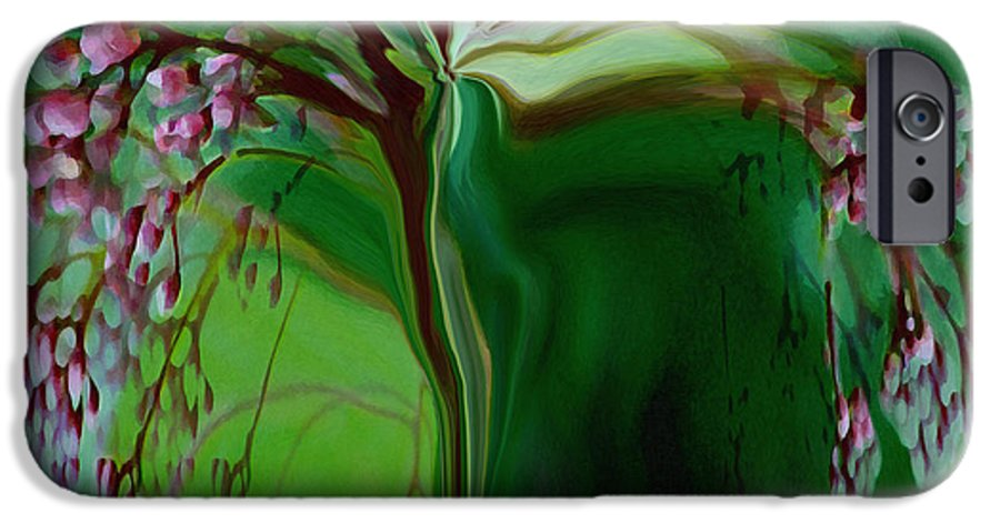 Tree Life Art IPhone 6 Case featuring the digital art Tree Of Life by Linda Sannuti