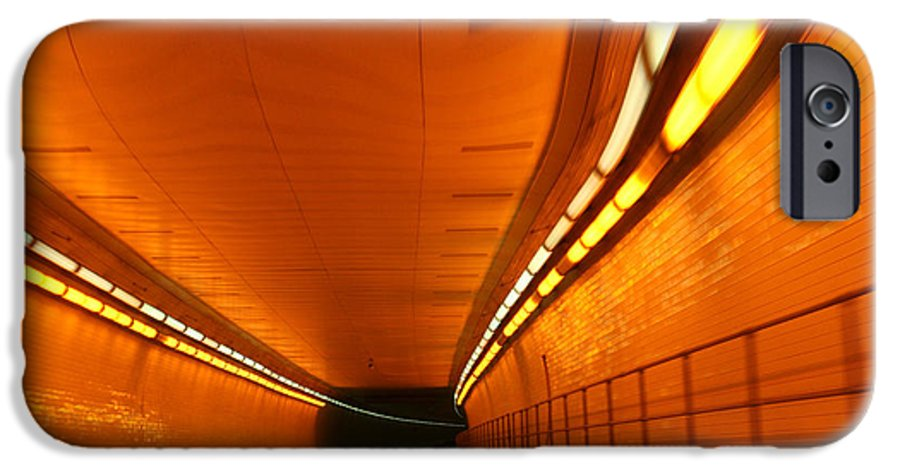 Tunnel IPhone 6 Case featuring the photograph Tunnel by Linda Sannuti